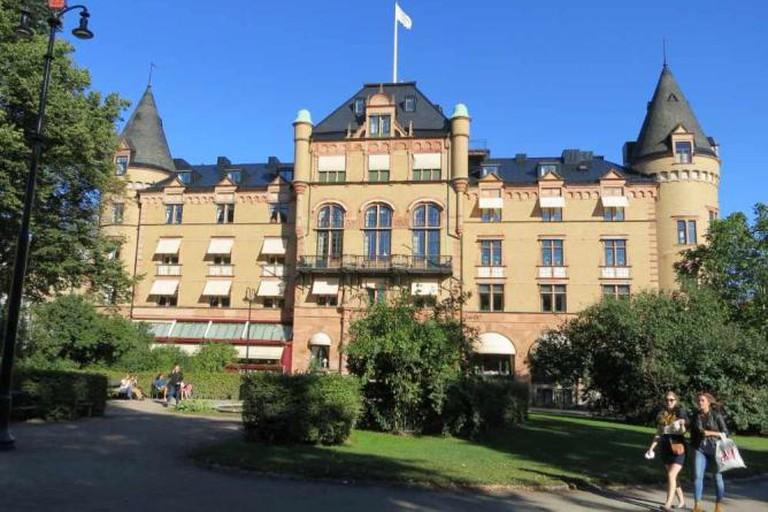 Grand hotel från Bantorget, Lund
