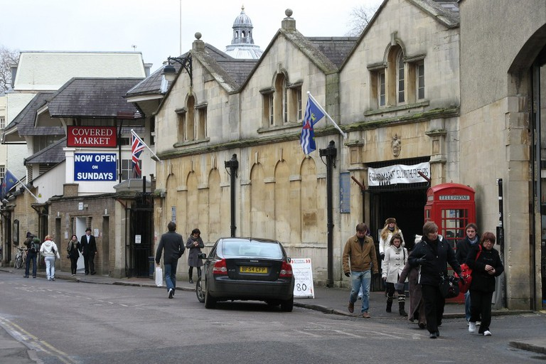 Covered Market, Oxford, United Kingdom