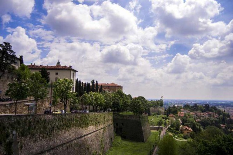 A view of Città Alta