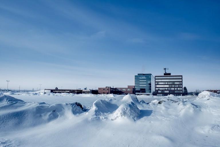 Winter in Moncton