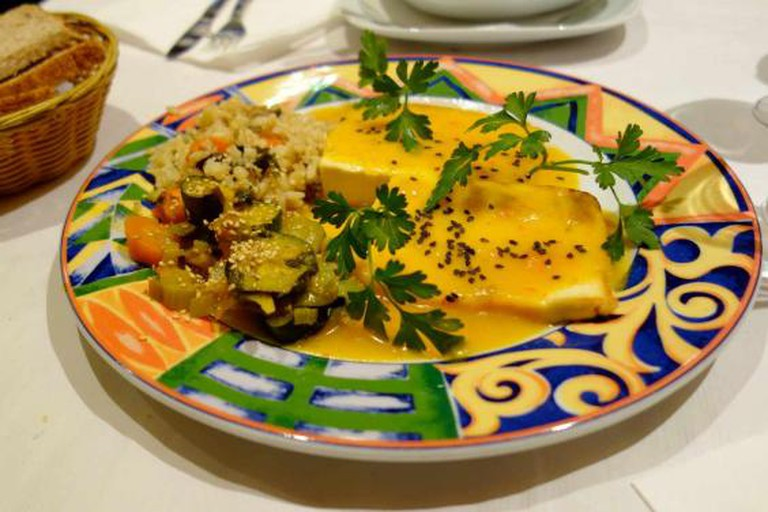 Restaurante vegetariano Artemisa