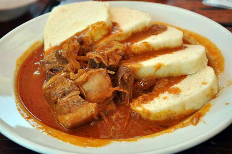Szeged goulash from pork