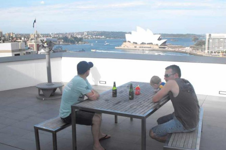 Rooftop Sydney Harbour YHA
