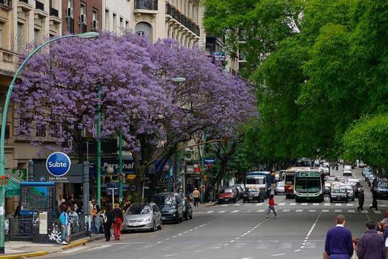 Avenida Santa Fe, Palermo/Las Cañitas