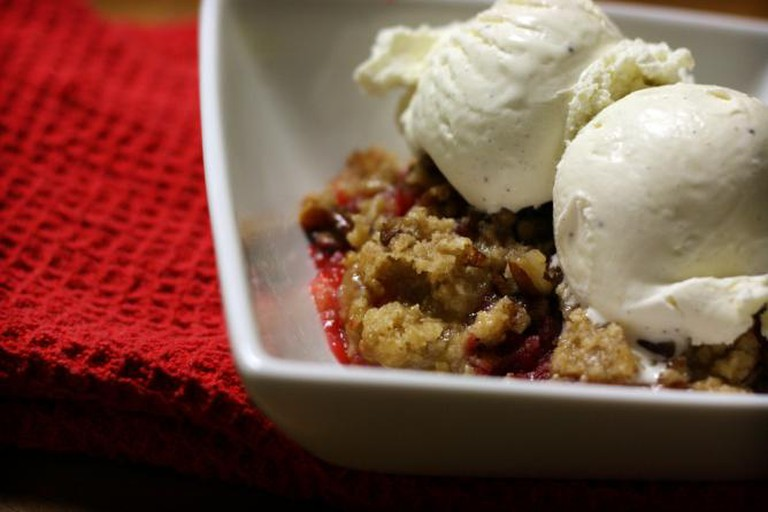 Cherry Apple Cobbler