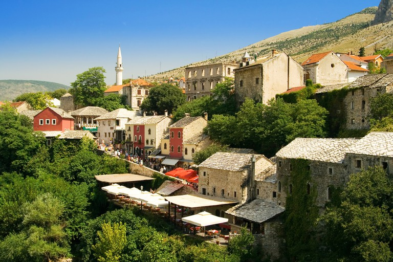 The old city Mostar - Bosnia and Herzegovina