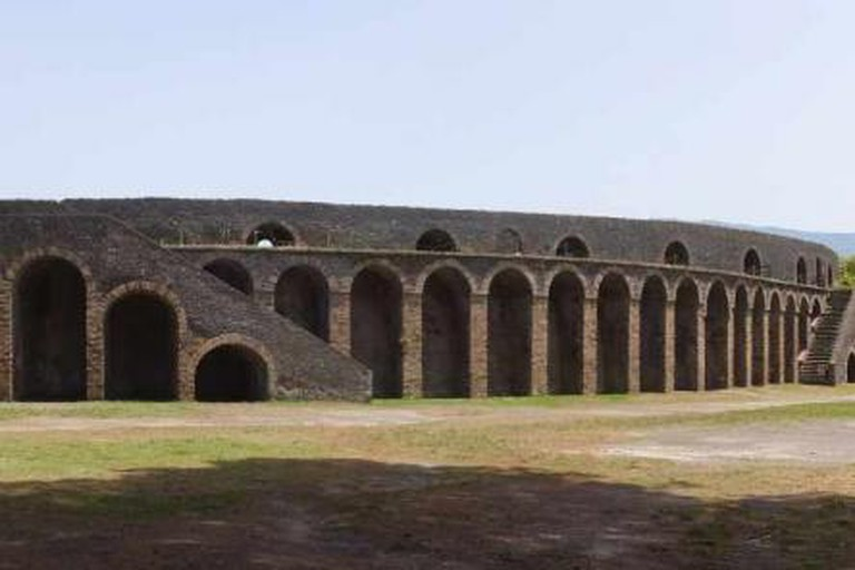 The amphitheatre in Pompeii