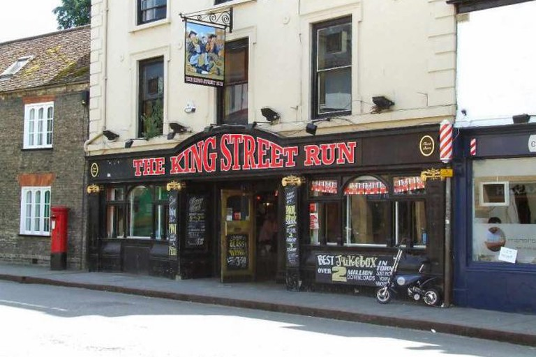 Exterior of the King Street Run
