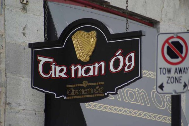 Tir Nan Og sign, Kingston Ontario