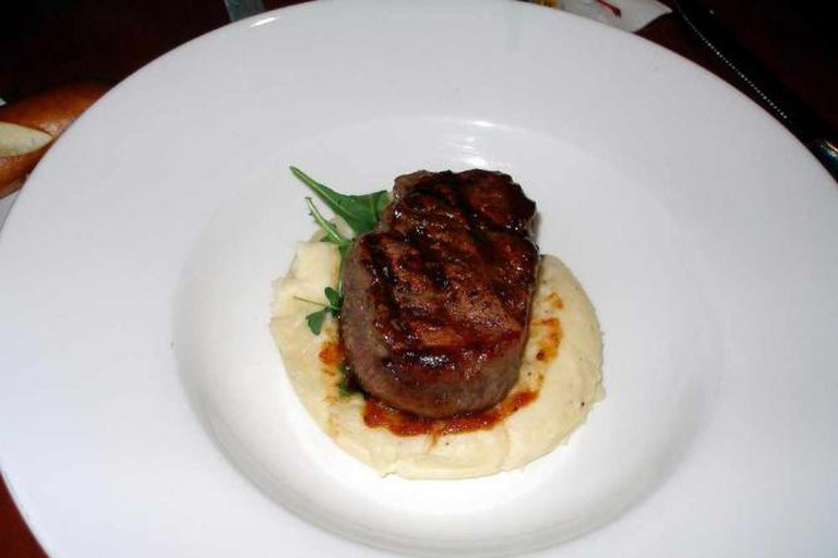 Filet Mignon with maple glaze