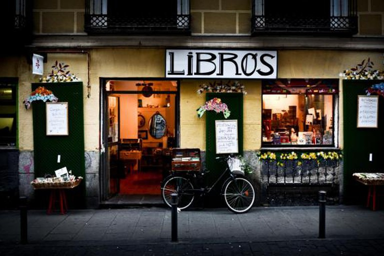 A bookshop in Malasaña