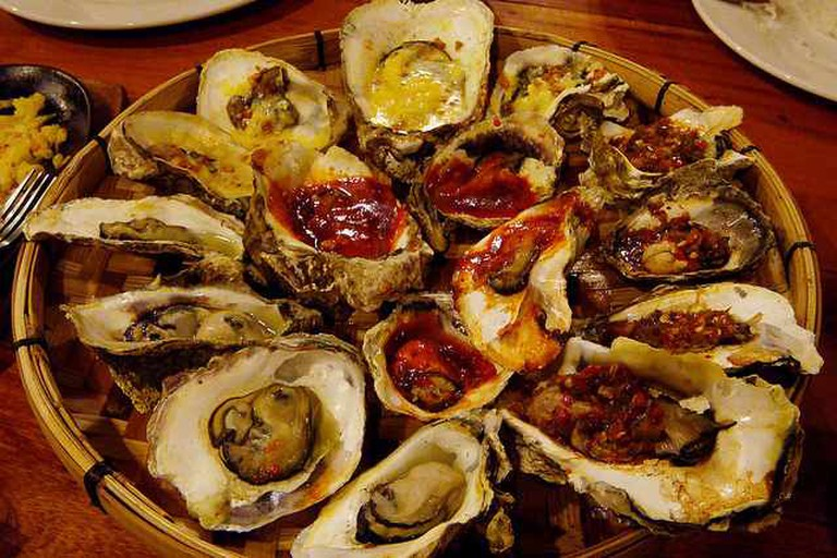 griller's oyster platter