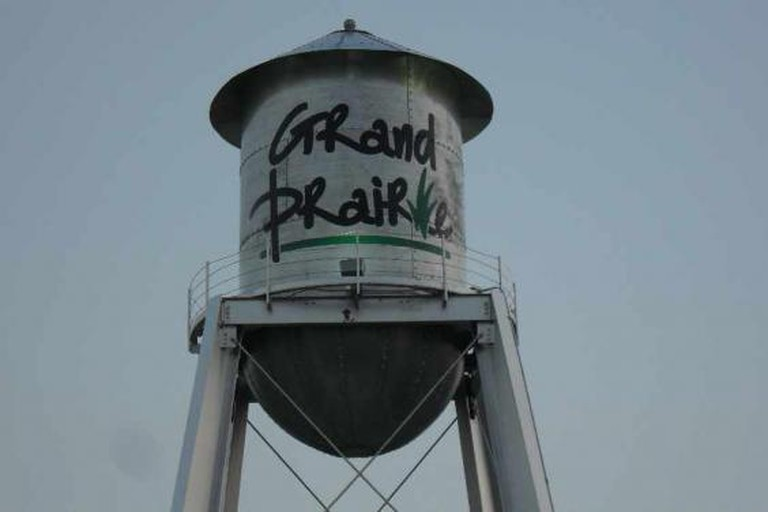 Grand Prairie water tower