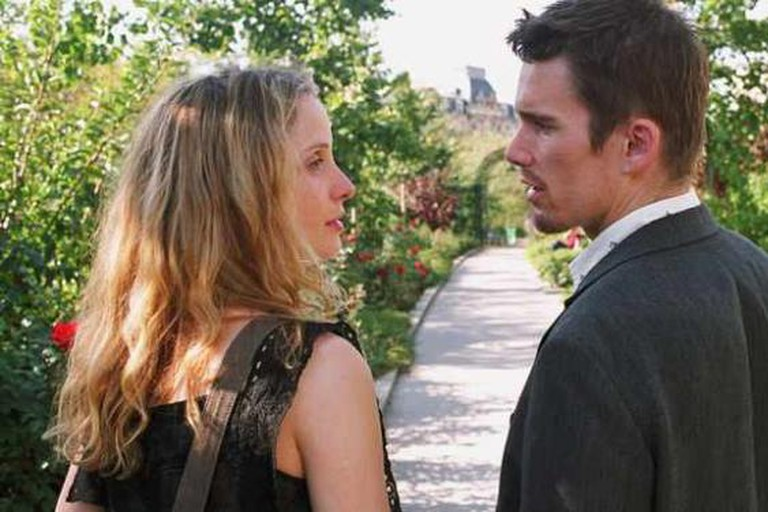 Still from Before Sunset, 2005