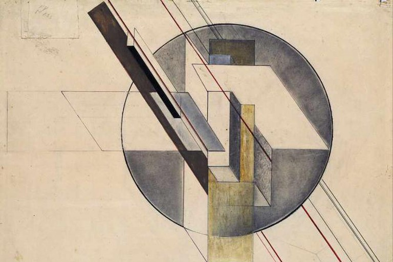 """Construction"" (1921) by Gustav Klutsis - Latvian National Museum of Art"
