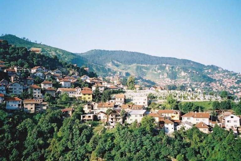 Hills around Sarajevo
