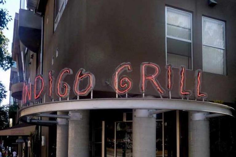 Indigo Grill entrance