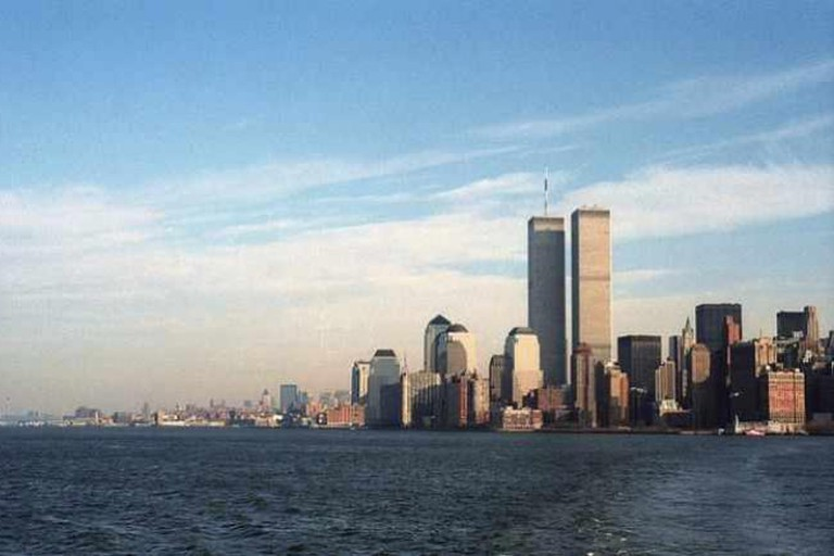 Pre-9/11 view of Manhattan