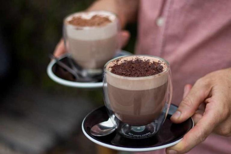 Mocha lattes
