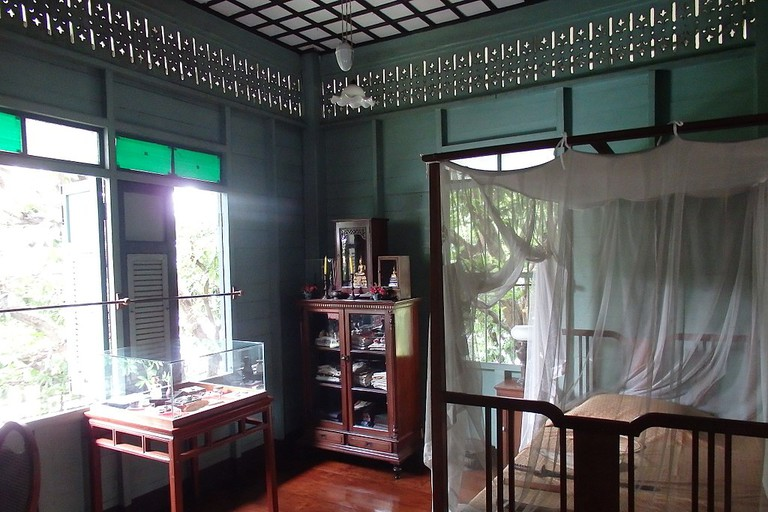 A period room in the Bangkokian Museum