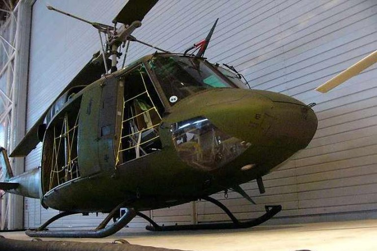 CH-135 Twin Huey helicopter at the Canada Aviation Museum