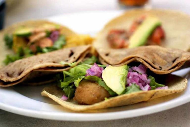 Tacos at El Fish Fritanga