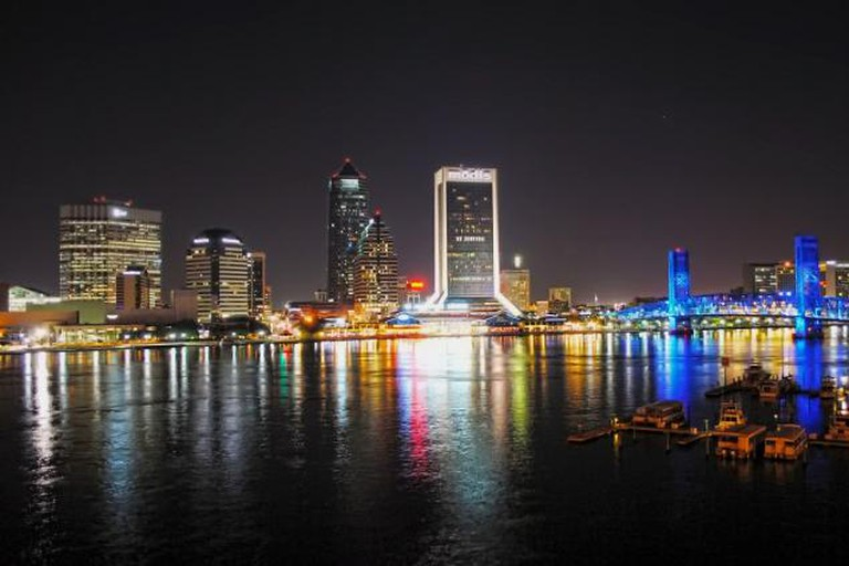Jacksonville by night