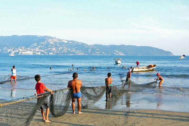 Fishermen in Acapulco
