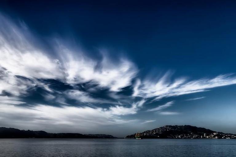 Wellington after a storm