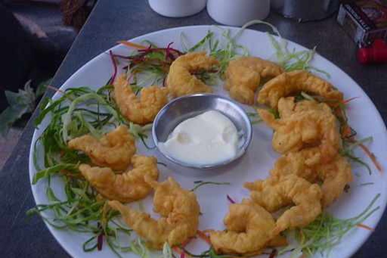 Golden Fried Prawns - Goa