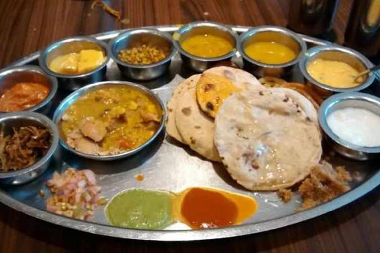 Marwadi Gujarati Thali