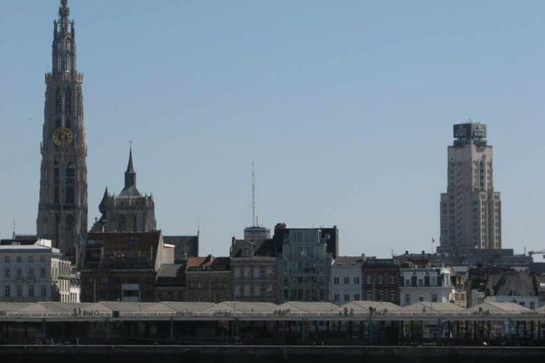 The Antwerp skyline