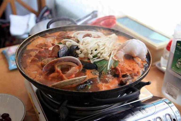 Busan Seafood Soup