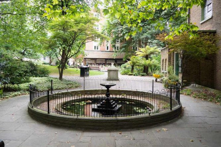 Postman's Park and the Memorial to Heroic Self Sacrifice