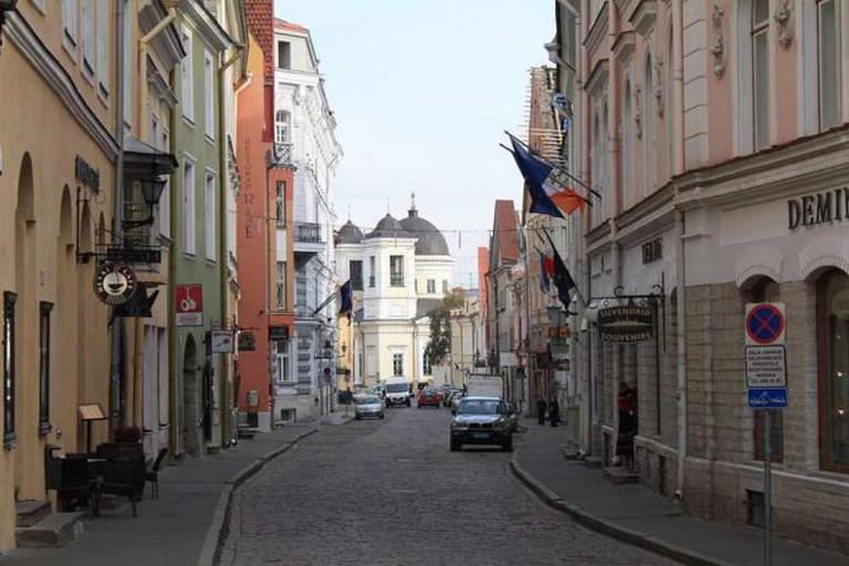 Vene street in Tallinn