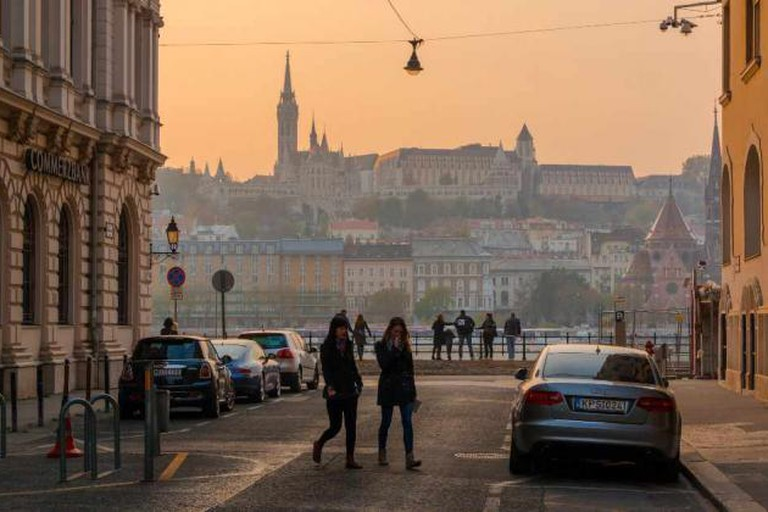 A street in Budapest