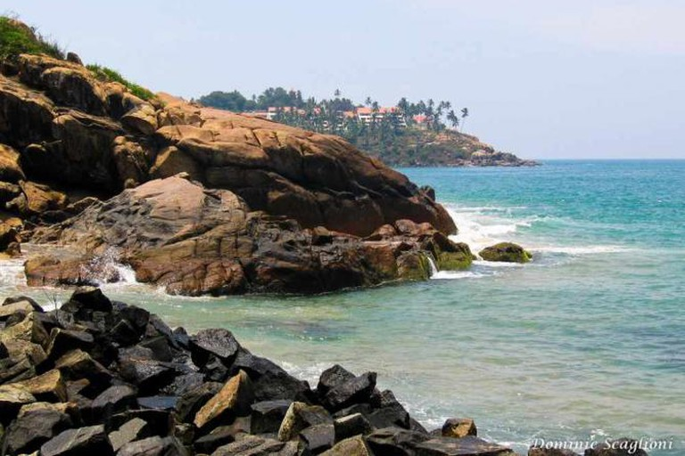 The coastline of Trivandrum