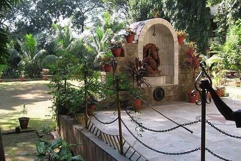 Ganesh statue in dems campus