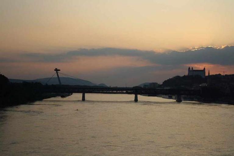 Danube in Bratislava