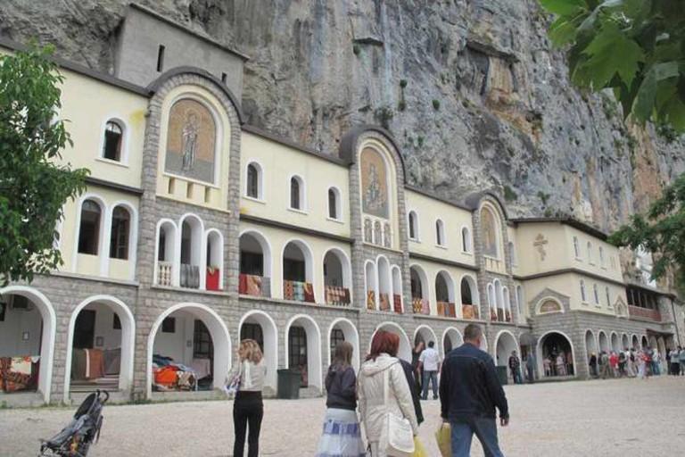 The Ostog Monastery