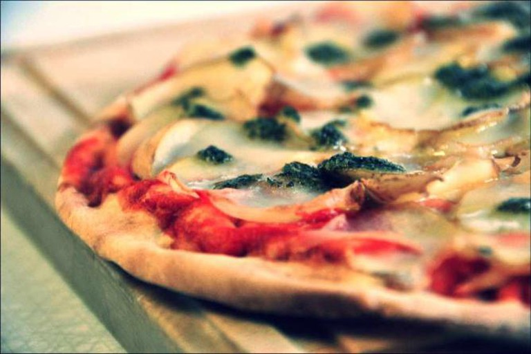 Kartoffel Pizza