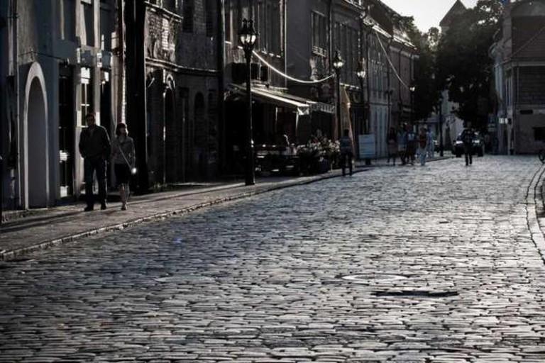 A street in Kaunas