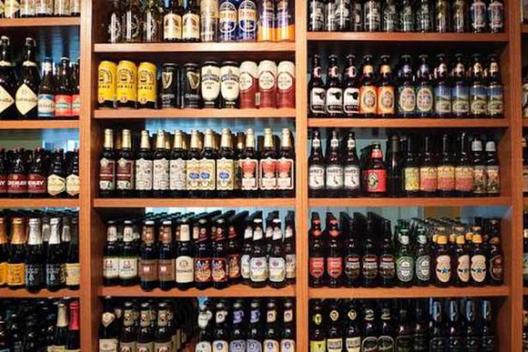 Sharp Edge Beer Emporium Beer Selection