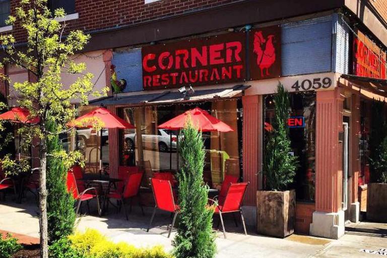 The Corner Restaurant exterior