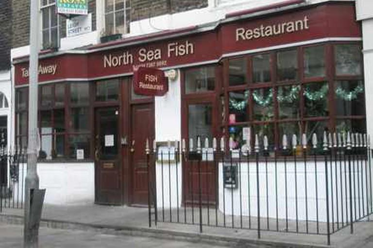 Exterior of North Sea Restaurant