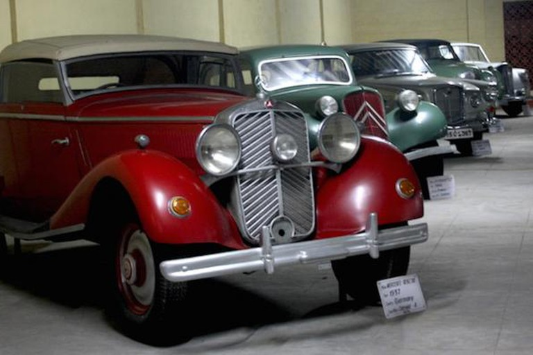 Mercedes Benz, 1937 model on display at Vintage Car Museum, Ahmedabad