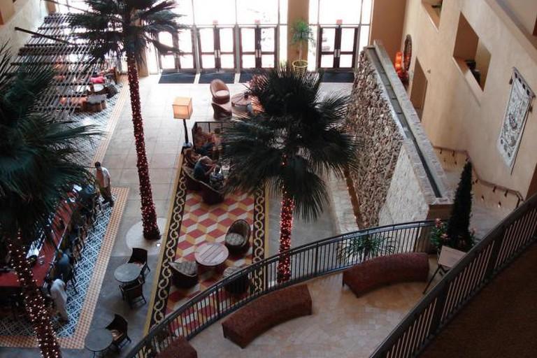 Hotel Contessa's Cork Bar in San Antonio, Texas