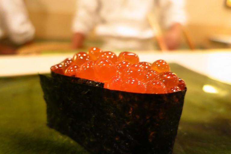 Sushi from Sukiyabashi Jiro