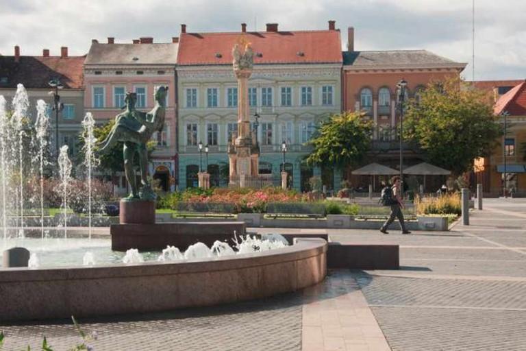 Main square, Szombathely