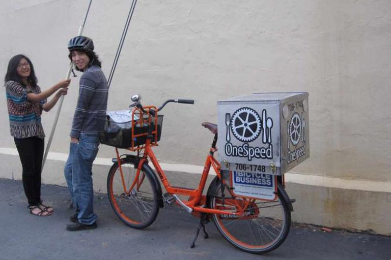 OneSpeed's bicycle delivery service